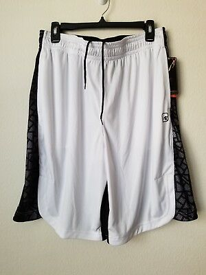 **** New Mens Basketball Shorts by And1.**Adjustable Elastic Waist Size L.****