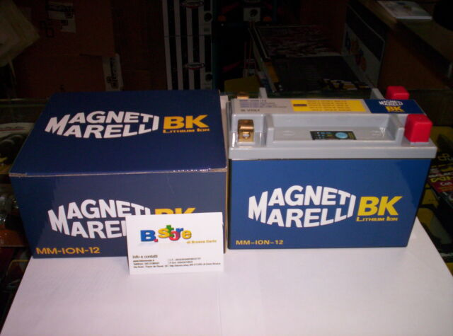BATTERIA LITIO MAGNETI MARELLI ION12 MOTO GUZZI CALIFORNIA TOURING VINTAGE 1100
