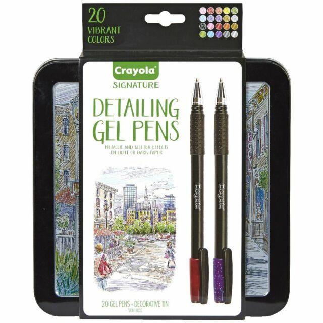 Crayola Signature Detailing Gel Pens 20 Pack