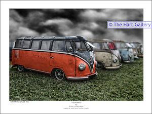 Volkswagen-Van-Split-Splitty-Screen-VW-Samba-Camper-Picture-Print-Picture-Ltd-Ed