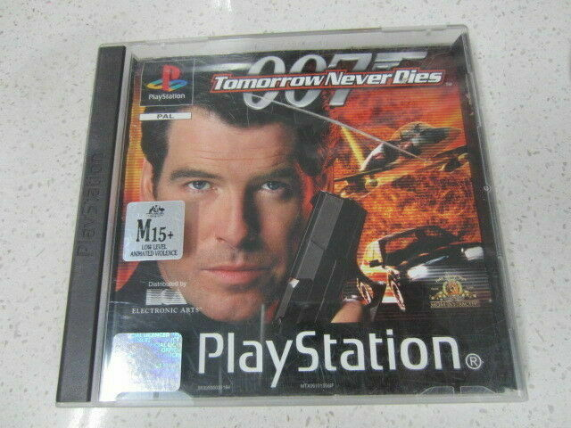 007 The World Is Not Enough Tomorrow Never Dies 2 Games Ps1 Pal