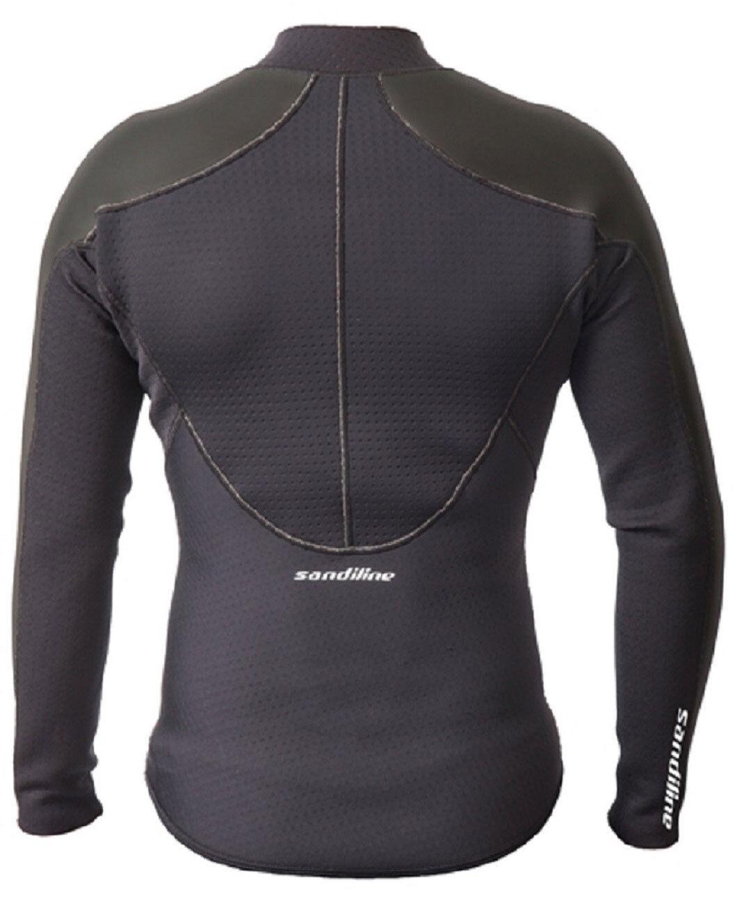 Sandiline Shirt AirVolution HWS Neopren Shirt mit und Airprene und mit Mesh-Neopren 537b05