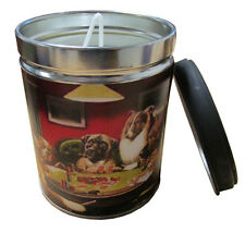 Smoke Eliminator Scented 13 oz Tin Candle w Dogs Label by Our Own Candle Company