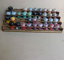 Soporte de pintura 40 botes Rack de almacenamiento taller Warhammer Escenografia Citadel pinturas GW