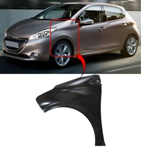 Onwards Brand New High Quality Front Wing Left Side N//S Peugeot 208 2012