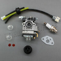 Carburetor & Plug For 22.5cc 23cc Goped Bigfoot Zenzah G23lh G2d Go-ped Scooter
