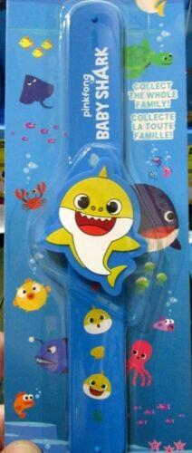 SLAPBAND Slap BRACELET 6 designs BABY SHARK Pink Fong