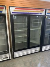True Gdm 49 Glass 2 Door Merchandiser Commercial Refrigerator 120v Working