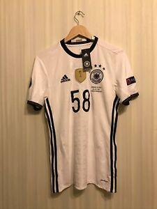Deutschland #58 2016/2017 Home Size S Germany Adidas shirt jersey trikot soccer