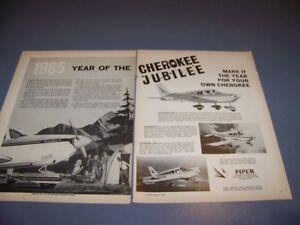Details about VINTAGE  1965 CHEROKEE 235/C/140   2-PAGE ORIGINAL SALES  ADS   RARE! (710S)