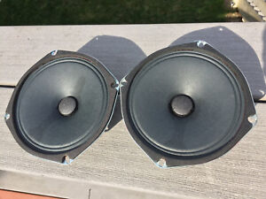 2 Nos Silver 6 1 4 8 Ohm Projected Sound Co Op Drive In Movie Theatre Speakers Ebay