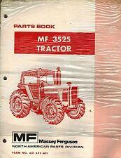 Massey Ferguson Mf 3525 Tractor Parts Manual Mf 651 492 M91