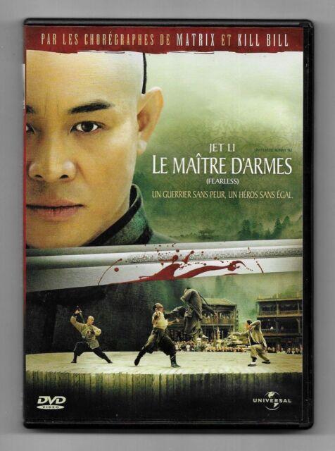 DVD / LE MAITRE D'ARMES - JET LI / CINEMA ASIATIQUE