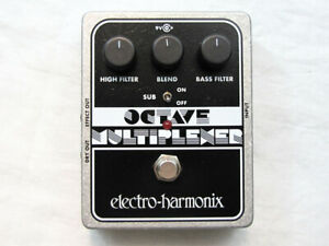 Used Electro-Harmonix EHX Octave Multiplexer Analog Sub Generator Guitar Pedal