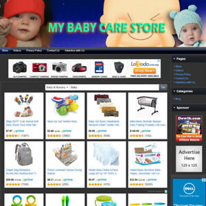 BABY-CARE-STORE-Established-Online-Business-Website-For-Sale-Free-Domain-Name