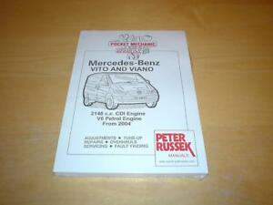 mercedes vito viano w639 v class owners service workshop repair rh ebay co uk Corvette Owners Manual viano marco polo owners manual