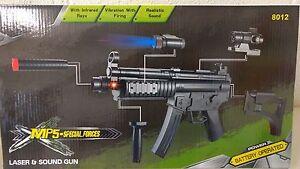 Electric-Toy-MP5-Machine-Gun-Electric-plastic-toy-gun-Submachine-Gun-Laser-Point