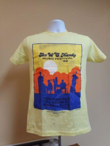 Handy Music Festival T-Shirt 1988 W C