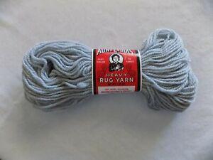 Steel-Gray-Aunt-Lydia-039-s-Heavy-Rug-Yarn-1-60-oz-70-yards-100-Kodel-Polyester