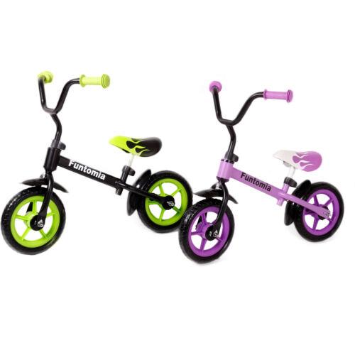 FunTomia Laufrad Lernrad Fahrrad in 2 Farben + höhenverstellbar ohne Stützräder