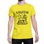 miniatuur 1 - KINGSTON Jamaica Mens ORGANIC T-Shirt Retro Rastafarian Reggae Rasta Judah Lion