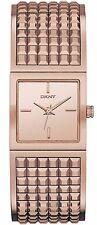 DKNY NY2232 Women's Rose Gold Tone St  Steel Bracelet Bryant Park  Watch