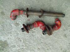 Farmall H Ih Tractor Hydraulic Belly Pump Oil Port Ports