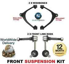 FOR TOYOTA ARISTO FRONT 2x WISHBONE ARMS 2x STABILISER LINK BAR SUSPENSION KIT