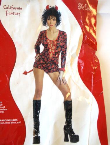 She Devil Adult Costume S M L NIP