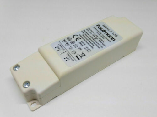 Elektronischer Trafo PAULMANN Mipro S 105 Watt NV-Halogen 0,46A dimmbar SELV neu