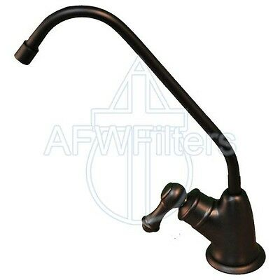 Polished Brass PURETECK Euro Style Non-Airgap Long Reach RO Faucet