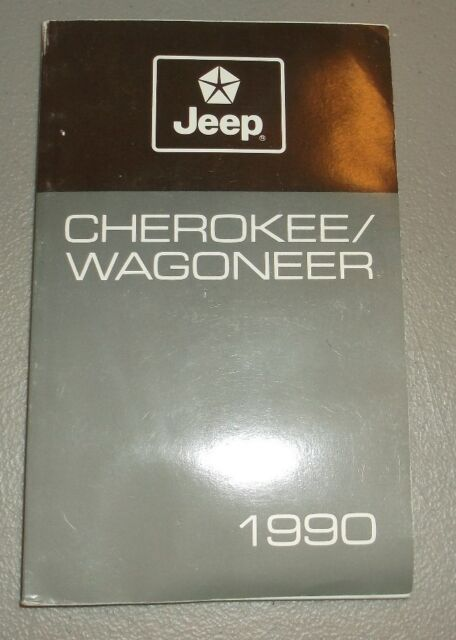1990 Jeep Wrangler Yj Owners Manual Original For Sale Online