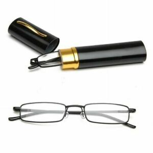 Portable-Unisex-Metal-Reading-Glasses-Clear-Spring-Hinge-Tube-Case-1-0-4-0