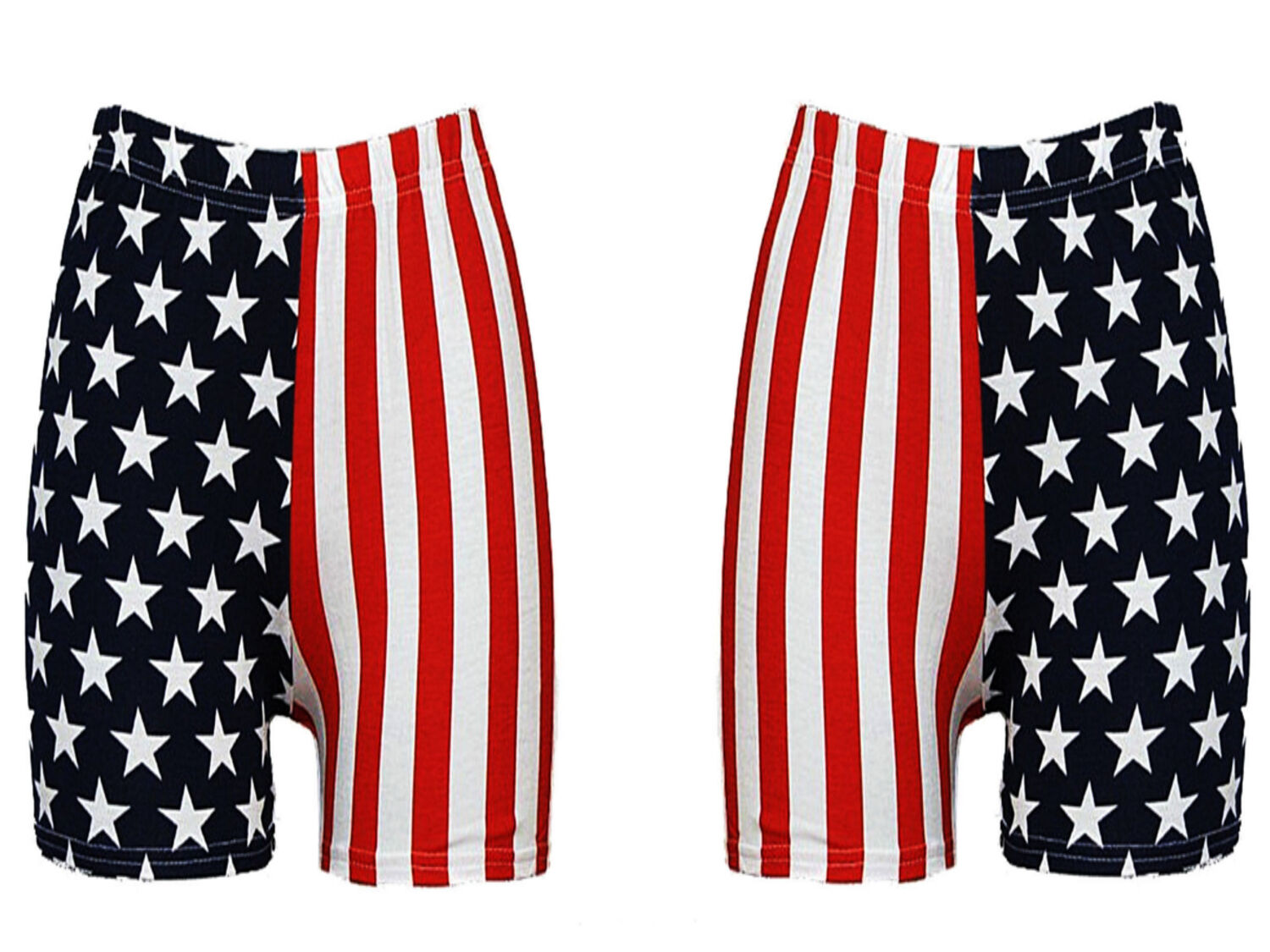 Details about WOMENS USA AMERICAN FLAG HOT PANTS SHORTS STARS STRIPES LADIES  INDEPENDANCE DAY a7e2813220