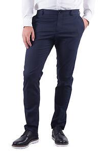 50484f2a000 Details about Homme slim fit bleu pantalon New One Mylologan 16051395