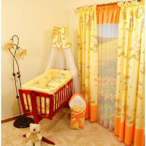 10tlg Wiegenset für Baby Babybettwäsche Bettausstatung Bettbezug Bettdecke