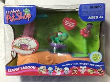 RARE Littlest Pet Shop LEAPIN' LAGOON Aquarium Friends Playful Playsets #236 NIB