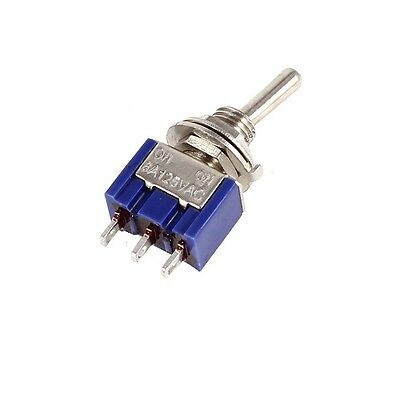 2//5//10pcs MTS-102//MTS-103 3pin Mini Toggle Switch SPDT On-On//On-Off-On