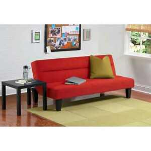Image Is Loading Kebo Futon Sofa Bed Red Dorm
