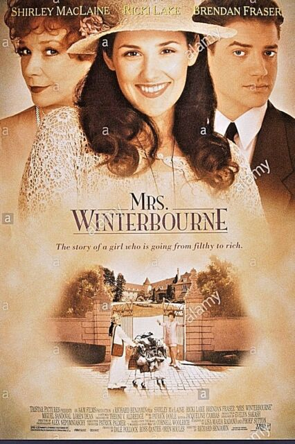 Mrs. Winterbourne 35mm Feature Shirley MacLaine, Brendan Fraser, Dolby Stereo