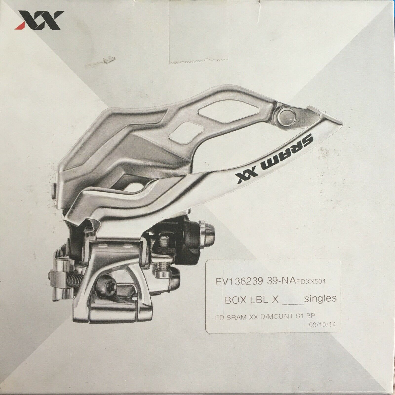 Antiguo desCocherilador SRAM XX s1