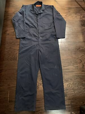 Size Large to XL Blue Striped Coveralls Vintage 70s Mechanics Overalls Flight Suit Boiler Suit 1970s Striped Herringbone Workwear