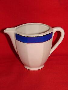 Ancien Pot A Lait Porcelaine Opaque De Badonviller / Faience Ceramique Bleu Fxmtn65c-08002430-792825649