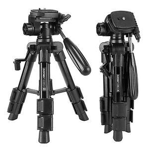 ZOMEI Q100 Pro Portable Table top mini Tripod&Pan Head Universal For DSLR Camera