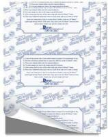 5 Ez Mount Static Cling Foam-8.5x11-to Convert Unmounted Rubber Stamp-ezmount