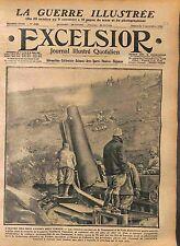 Poilus Artillerie Canons Victoire Douaumont & Vaux Bataille de Verdun WWI 1916