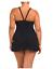 NWT-178-Profile-by-Gottex-Black-SwanLake-One-Piece-SwimDress-Swimsuit-Plus-Size