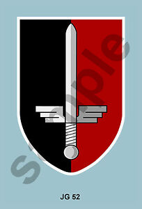 aviation art Luftwaffe pilot JG 52 WW2 photo print emblem insignia - ditchling, East Sussex, United Kingdom - aviation art Luftwaffe pilot JG 52 WW2 photo print emblem insignia - ditchling, East Sussex, United Kingdom