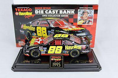 Ernie Irvan 1996 Collectors Die Cast Bank 1:24 Scale Texaco Havoline Car Ltd Ed