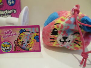 Pikmi Pops Surprise Season 3 Style Series Miji The Cheetah Plush NEW